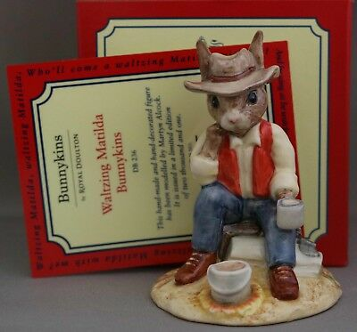 "Royal Doulton Bunnykins - ""Waltzing Matilda"" - DB236 - ***Last ones available.**"