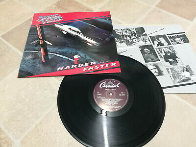 APRIL WINE - HARDER FASTER LP VINYL UK 1979  plus inner sleeve
