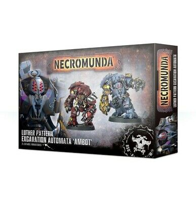 Necromunda: Ambot Automata Games Workshop Brand New 99120599009