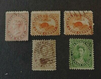 Canada Stamp Selection Cents Issue U