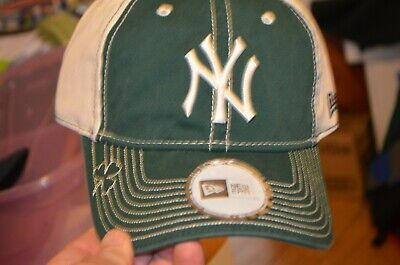71b55a660ad0a5 New York Yankees New Era St. Patrick's Day Adjustable Hat - Green/White -