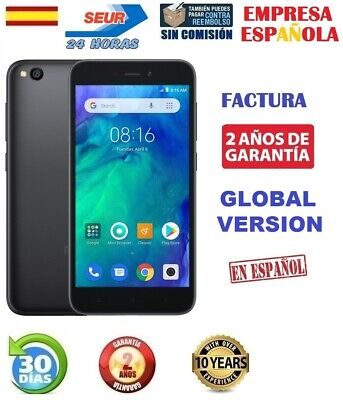 Xiaomi Redmi Go 8Gb Negro Global Version Factura Garantia 2 Años Entrega 24Horas