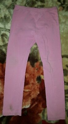 GIRLS Sz 7 pink TARGET leggings CUTE! ELASTIC WAIST!