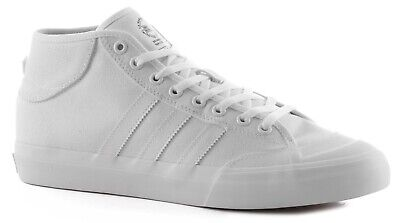 Adidas MatchCourt Mid Shoes All White