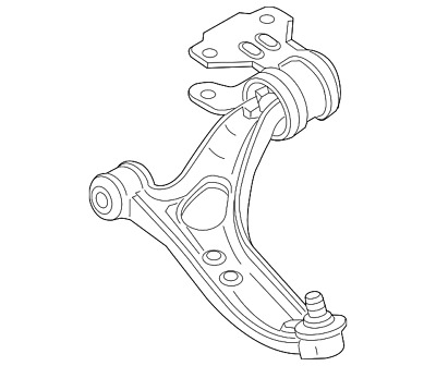Ford Oem 13 18 Focus Front Lower Control Arm F1fz3078a