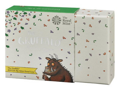 The Gruffalo 50p Silver Proof Coin UK 2019 Limited Edition Coin Collectable Gift
