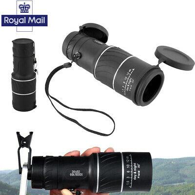 Day & Night Vision 30x52 HD Optical Monocular Hiking Hunting Camping Telescope