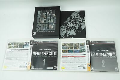Metal Gear Solid The Legacy Collection PS3 Konami Sony Playstation 3 From Japan