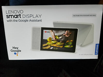 "Lenovo Smart Display 8"" with the Google Assistant"
