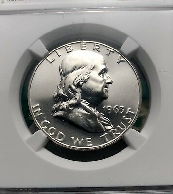 1963 50c Proof Franklin Half Dollar NGC PR67 (1127)