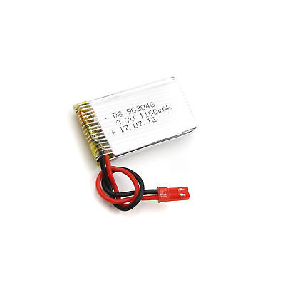 3.7V 1100mAh 903048 Lipo Battery JST plug for Remote Control Helicopter Car Toys