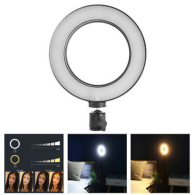 LED Ring Light Dimmable 5500K Annular Lamp Photography Camera Photo Studio Video