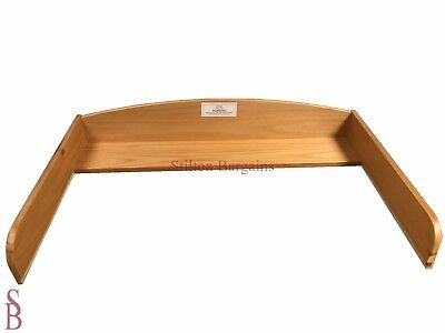 BabyStart Oxford Changer Top For Chest of Drawers - Pine with Oak Finish - BNIB