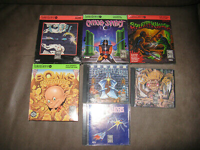Nec TurboGrafx-16 Games Boxed Wholesale Joblot Collection Bundle Rare