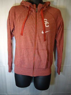 725cd2c5 NIKE USC TROJANS Youth Cardinal Logo Pullover Performance Hoodie ...