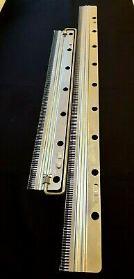 1) Brother Knitting Machine Parts Kr850 Ribber 4.5Mm 2 Piece Cast On Comb Set