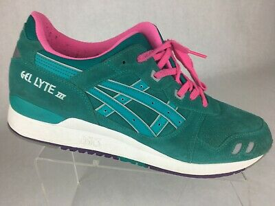 info for c9039 c8654 ASICS GEL LYTE III Tropical Green Mens Shoes Sz 12 H511L