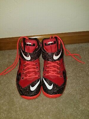 promo code a30fb 5e2ed Red Men size 10.5 Nike Zoom LeBron Soldier 8