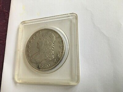 1830 Capped Bust Half Dollar -