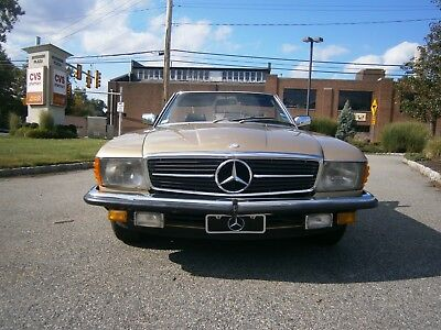 Mercede Benz 1981 380Sl Roadster 473 Champagne Metallic