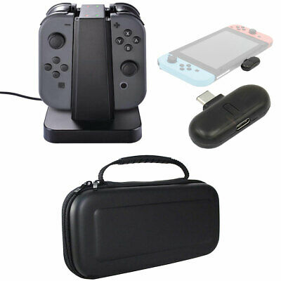 Deco Gear Nintendo Switch Accessory Kit w/ Bluetooth Adapter, Case and Dock