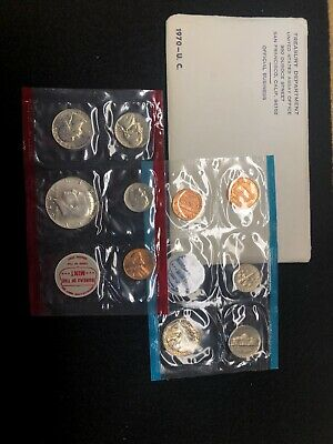 1970 ~ United States Mint Set ~ Includes The Scarce 1970-D 40% Silver Half