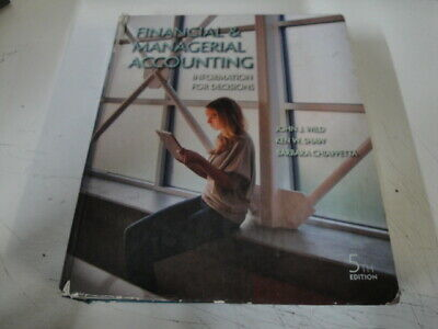 C8230 Financial and Managerial Accounting : Information for Decisions
