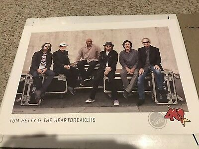 Tom Petty and the Heartbreakers 40th Anniversary Tour Poster