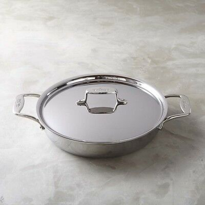 All-Clad d5 Stainless-Steel 5-Ply  All-In-One Pan 4-Qt with Lid