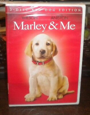 New Sealed Marley & Me (DVD, 2009, Bad Boy Edition)g Jennifer Aniston