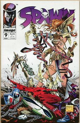 Spawn #9 - NM- - 1st Appearance Of Angela