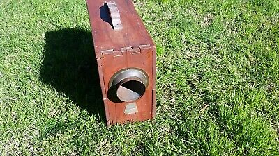 "Antique maritime ship foghorn   ""for parts or repair"""