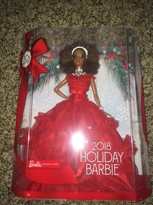 2018 Holiday Barbie Signature Doll Nikki 30th Anniversary Holiday New