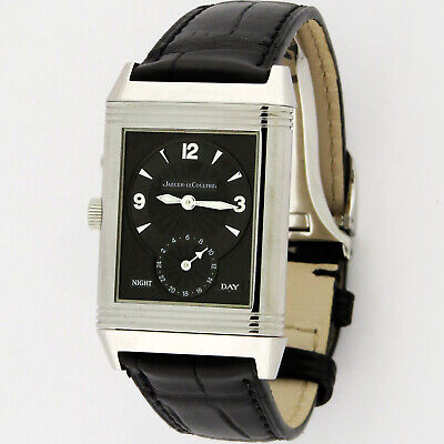 Jaeger LeCoultre Reverso SS Duo Day Night Q2718470 270.8.54 Watch JLC Serviced