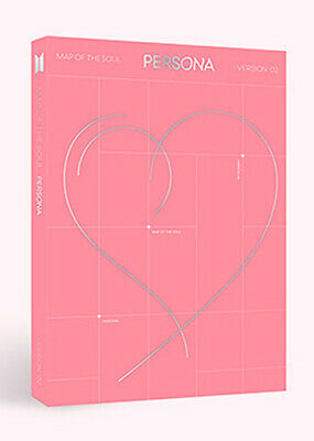 BTS - MAP OF THE SOUL : PERSONA [ver.-2] CD+Photobook+Photocard+Poster+Free Gift