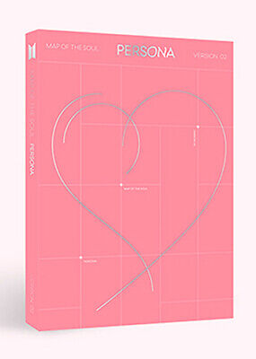 BTS - MAP OF THE SOUL : PERSONA [ver-2] CD+Poster+4 Extra Photocards+Tracking no