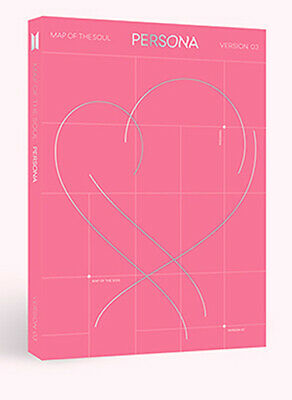 BTS - MAP OF THE SOUL : PERSONA [3 ver.] CD+Poster+4 Extra Photocards+Tracking