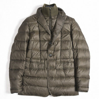 HERNO $865 LIGHTDOWN Jacket Coat Men 3 Season Solid Brown