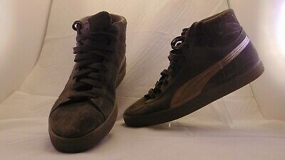 afee310e11 PUMA SUEDE CLASSIC MID MEN'S SHOES LIFSTYLE MID TOP COMFY SNEAKERS size 10  green
