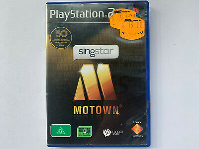 Singstar Motown for Playstation 2 - Complete In Original Case - AUS PAL