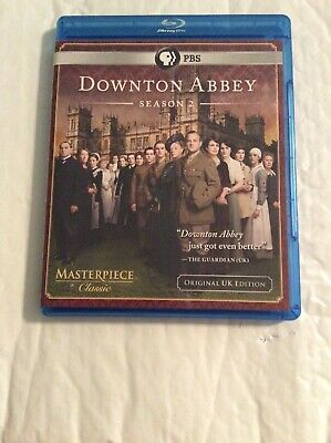 Masterpiece Classic: Downton Abbey Season 2 [Original U.K. Edition] [Blu-ray]