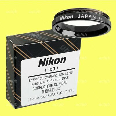 Nikon +0 -0 Neutral Correction Eyeypiece Lens Diopter for FM3A FM2 FE2 FM FA FE