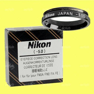 Genuine Nikon -5.0 Correction Eyeypiece Lens Diopter for FM3A FM2 FE2 FM FA FE