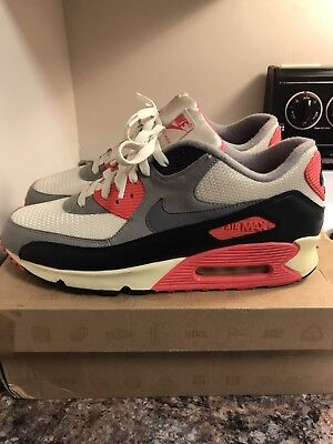 buy popular f080c 05fd6 Nike Air Max 90 Infrared 2012-13 Vintage Og 11.5 Wotherspoon 95 Neon Greedy  Camo