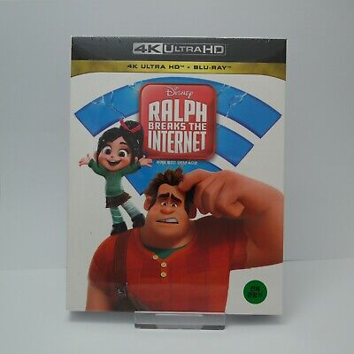 Ralph Breaks The Internet - Blu-ray & 4K UHD Full Slip Case Steelbook (2019)