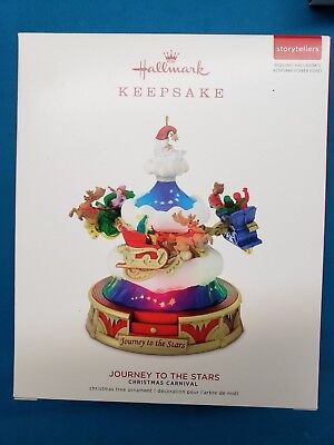 2018 Hallmark Keepsake Ornament Journey To The  Stars NIB