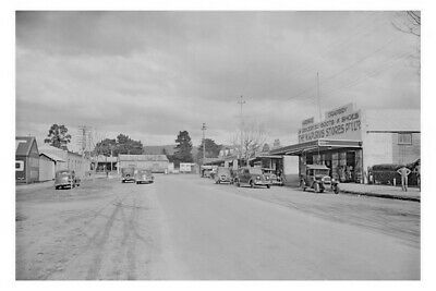 MOE Town Centre Purvis Store 1st 1920s view modern Digital Photo  Postcard