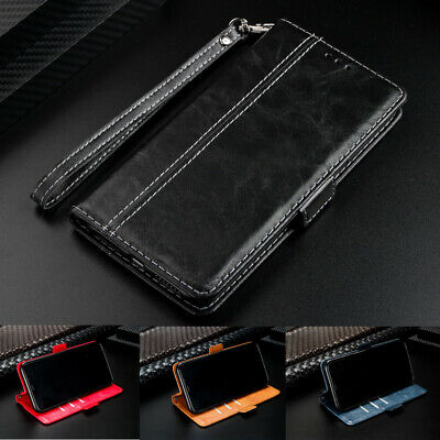 For Samsung Galaxy S10 Plus S9 S8 S7 Edge Luxury Flip Leather Wallet Case Cover
