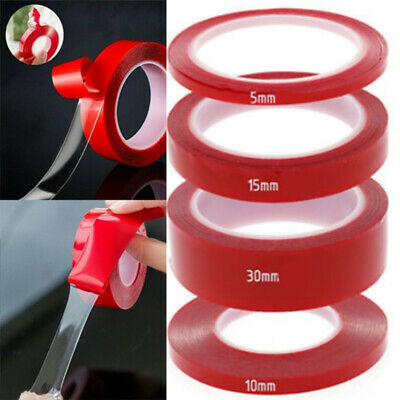 Red Double Sided Super Sticky Heavy Duty Adhesive Tape Cell Phone Repair~jc