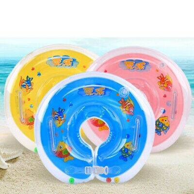 Newborn Infant  Baby Child Swimming Neck Float Inflatable Ring Safety Water Fun